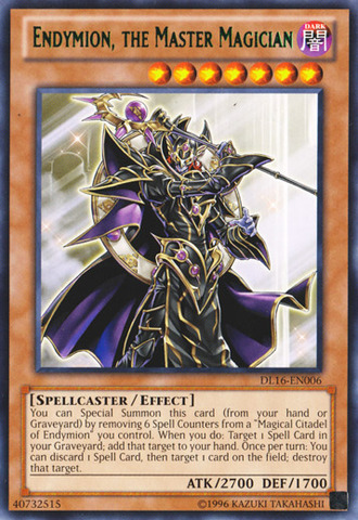 Endymion the Master Magician - Green - DL16-EN006 - Rare - Unlimited Edition