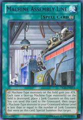 Machine Assembly Line - Blue - DL16-EN014 - Rare - Unlimited Edition