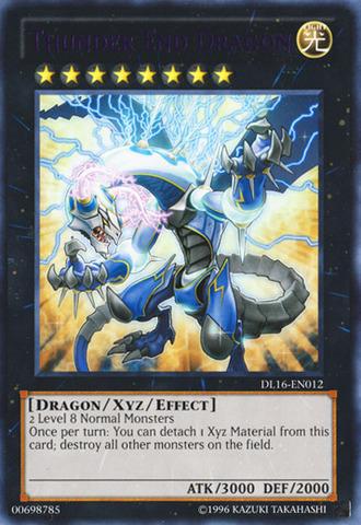 Thunder End Dragon - Purple - DL16-EN012 - Rare - Unlimited Edition