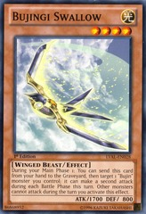 Bujingi Swallow - LVAL-EN028 - Common - Unlimited on Channel Fireball