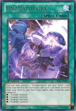 Onomatopaira - LVAL-EN067 - Rare - Unlimited