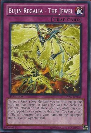 Bujin Regalia - The Jewel - LVAL-EN075 - Common - Unlimited