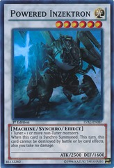 Powered Inzektron - LVAL-EN087 - Super Rare - Unlimited