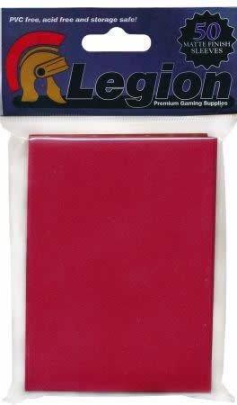 Legion Matte Red 50ct