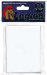 Legion Matte Finish White Standard Size Premium Gaming Card Sleeves (50 Ct)