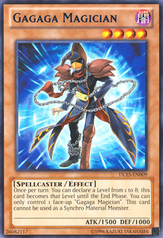 Gagaga Magician - Blue - DL15-EN009 - Rare - Unlimited Edition