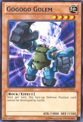Gogogo Golem - Blue - DL15-EN010 - Rare - Unlimited Edition