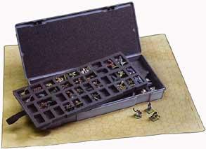 Large Figure Storage Box: 80 25mm Figure Capacity