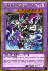 Dragonecro Nethersoul Dragon - PGLD-EN015 - Gold Secret Rare - 1st Edition on Channel Fireball