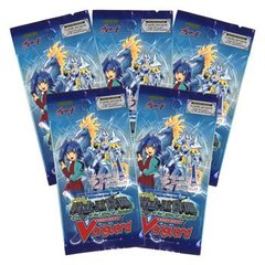 Cardfight Vanguard Sealed Descent of the King of Knights Booster Pack 5 Pack Lot