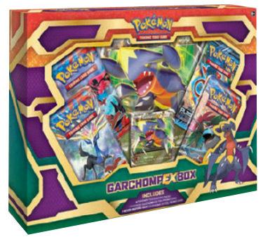 Pokemon Garchomp EX Collection Box