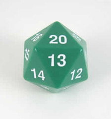Jumbo countdown turndown Spindown D20 55mm Green