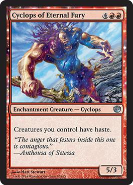 Cyclops of Eternal Fury - Foil