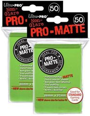 100ct Pro-Matte Lime Green Standard Deck Protectors