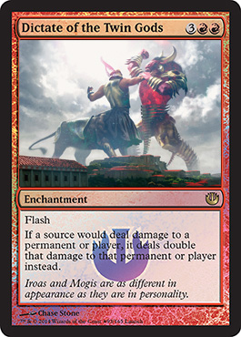 Dictate of the Twin Gods - Foil - Launch Promo
