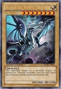 Blue-Eyes White Dragon - JUMP-EN068 - Ultra Rare - Promo Edition