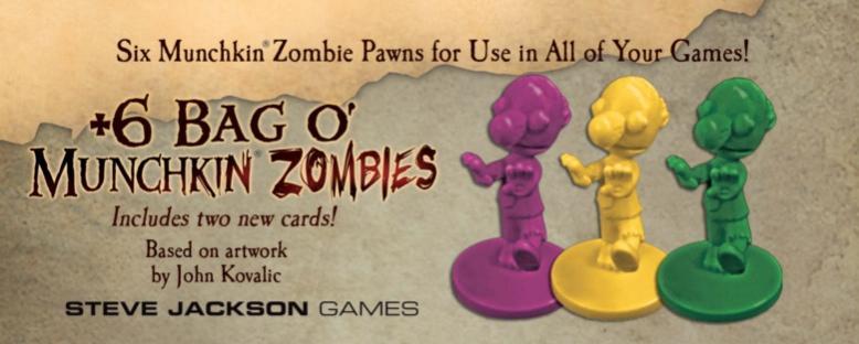 +6 Bag O Munchkin Zombies