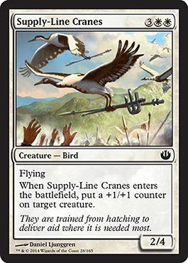Supply-Line Cranes - Foil