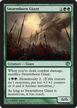 Swarmborn Giant - Foil