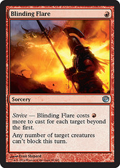 Blinding Flare on Channel Fireball