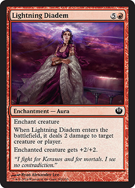 Lightning Diadem - Foil