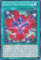 Rank-Up-Magic Quick Chaos - DRLG-EN042 - Secret Rare - 1st Edition