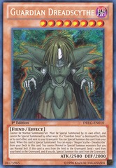Guardian Dreadscythe - DRLG-EN010 - Secret Rare - 1st Edition