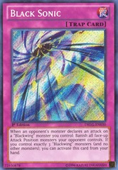 Black Sonic - DRLG-EN030 - Secret Rare - 1st Edition