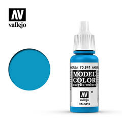 VAL70841 Vallejo Model Color Andrea Blue 17ml (065)