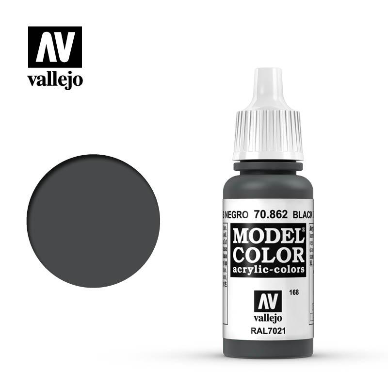 Vallejo Model Color - Black Grey - VAL70862 - 17ml