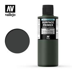 Vallejo Surface Primer - U.K. Bronze Green - VAL74607 - 200ml