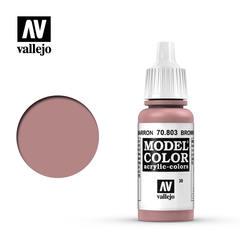 VAL70803 Vallejo Model Color Brown Rose 17ml (038)