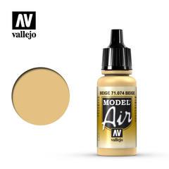 Vallejo Model Air - Beige - VAL71074 - 17ml
