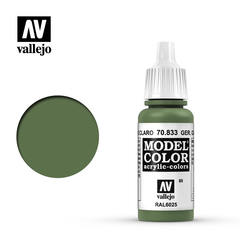 VAL70833 Vallejo Model Color German Camo Bright Green WWII 17ml (080)