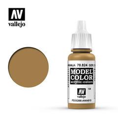 VAL70824 Vallejo Model Color German Camo Orange Ochre 17ml (128)