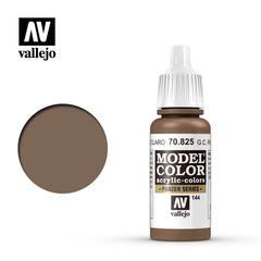 VAL70825 Vallejo Model Color German Camo Pale Brown 17ml (144)