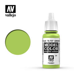 VAL70737 Vallejo Model Color Green Fluorescent 17ml (210)