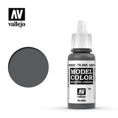 VAL70866 Vallejo Model Color Grey Green 17ml (165)