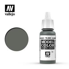VAL70863 Vallejo Model Color Gunmetal Grey 17ml (179)