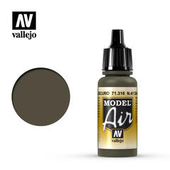 Vallejo Model Air - Num. 41 Dark Olive Drab - VAL71316 - 17ml