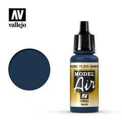 Vallejo Model Air - Dark Mediterranean Blue - VAL71313 - 17ml
