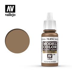 VAL70874 Vallejo Model Color US Tan Earth 17ml (134)