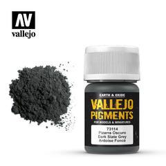 Vallejo Pigments - Dark Slate Grey - VAL73114 - 17ml