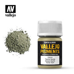 Vallejo Pigments - Green Earth - VAL73111 - 17ml