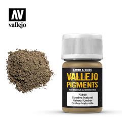 Vallejo Pigments - Natural Umber - VAL73109 - 17ml