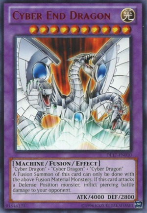 Cyber End Dragon - Red - DL17-EN010 - Rare - Unlimited Edition