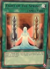 Fairy of the Spring - Green - DL17-EN016 - Rare - Unlimited Edition on Channel Fireball