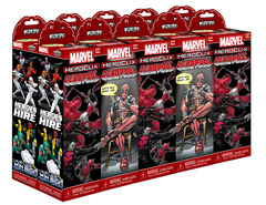 Marvel HeroClix: Deadpool Gravity Feed Booster Brick