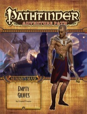 Pathfinder Adventure Path #80: Empty Graves (Mummys Mask 2 of 6)