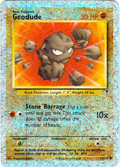 Geodude - 77/110 - Common - Reverse Holo